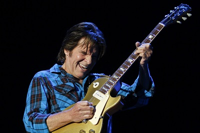 U.S. rock singer John Fogerty performs d