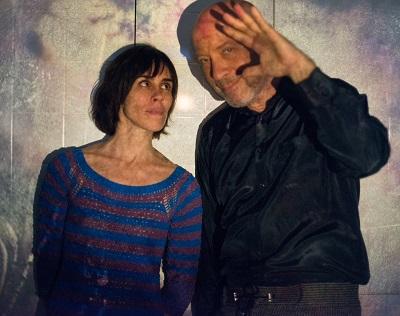 foto Edgard Scandurra e Silvia Tape - credito Juliana R_ 2 w-400x