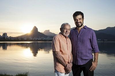 Carlos e Claudio Lyra na Lagoa R-400x