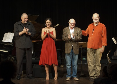 Michel Freidenson, Anna Setton, Luiz Millan e Teco Cardoso - Foto Priscila Prade-400x